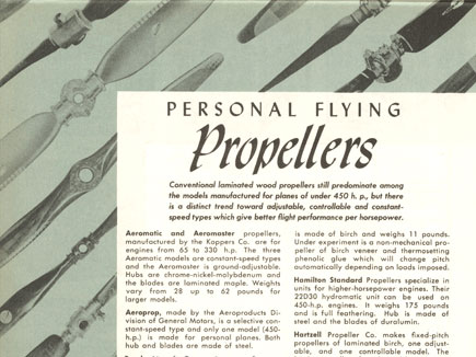 Personal Flying Propellers