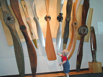 College Park MD Museum  Propeller Wall
