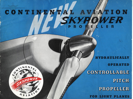 Continental Skypower 1946 AD