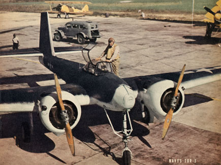 NAVY Interstate TDR-3 Radio Controlled, Manned or Un-Manned Bomber, 1943